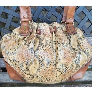 Jessica Simpson Python Print Bag